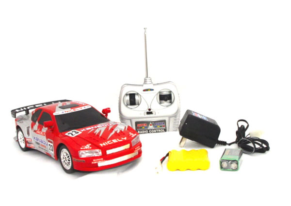 rc nissan skyline red
