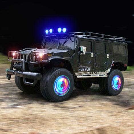 Rims on Hummer W  Spinning Rims   Lights