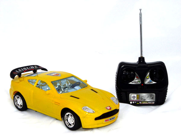 rc aston martin yellow