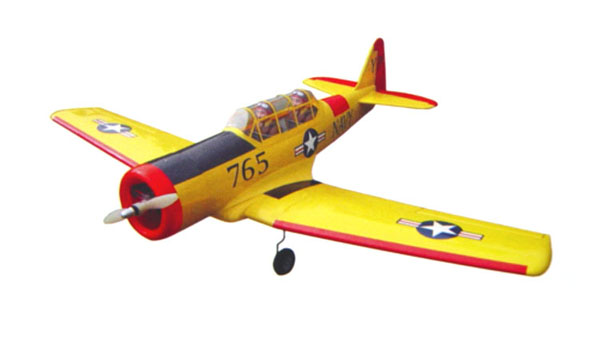 AT-6-46 nitro rc airplane