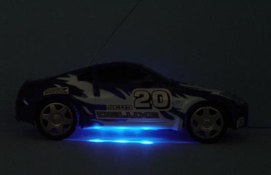 rc ferrari modena bottom lights