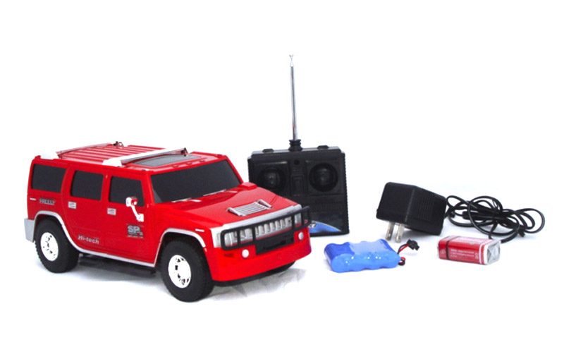 rc h2 hummer red