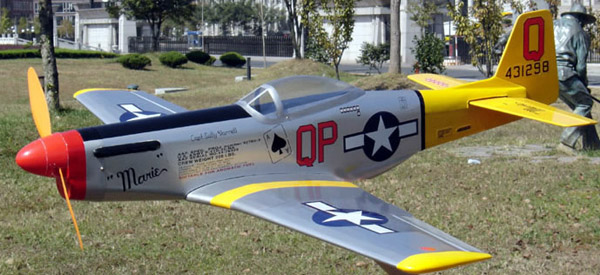 rc mustang p51 ep1 airplane