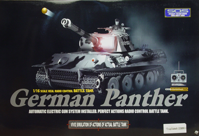 rc tank panthe box