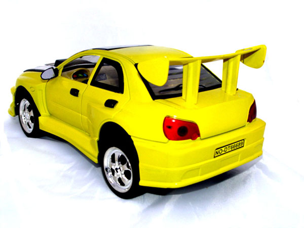 rc mistubishi evo back