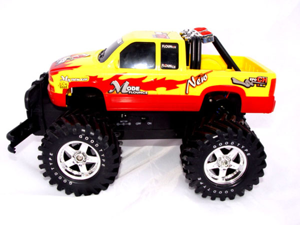 RC Chevy truck side
