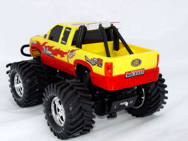 RC Chevy truck back