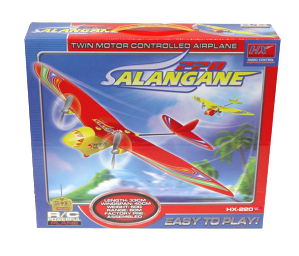 Salangane 220 rc sport airplane box
